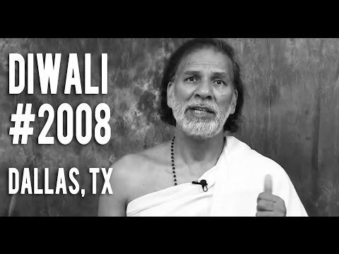 Cowboy Stadium: Dallas Diwali Mela 2008. Acharya Shree Yogeesh