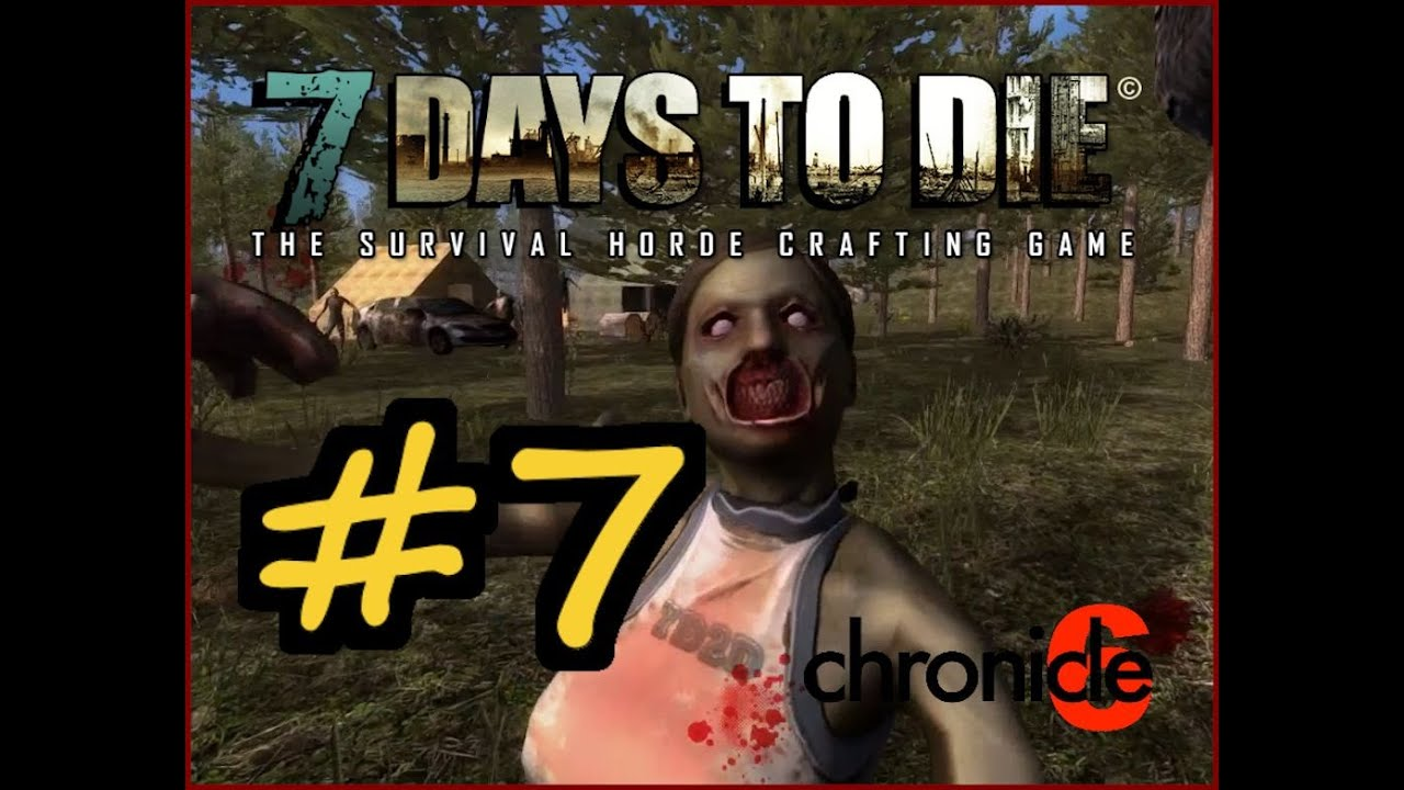 7 days to die alpha 9 3 let 39 s play sp trees grow for Gardening 7 days to die