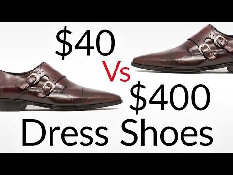 40 vs  400 Dress Shoes  80cce109d956