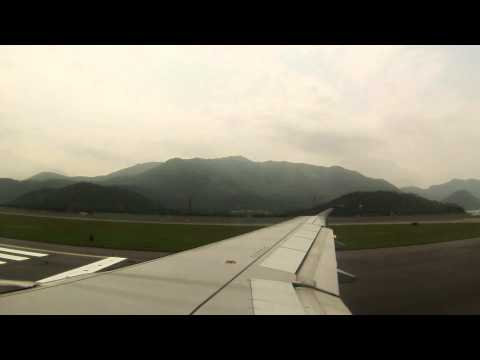Takeoff, Hong Kong International Airport (Chek Lap Kok Airport)