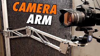 Flexible Camera Arm for Workshop Filming (Plans available)