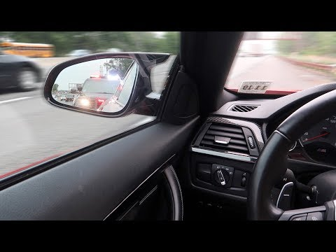RUNNING FROM THE COPS IN MY BMW M4 (HIGH SPEED POLICE CHASE)