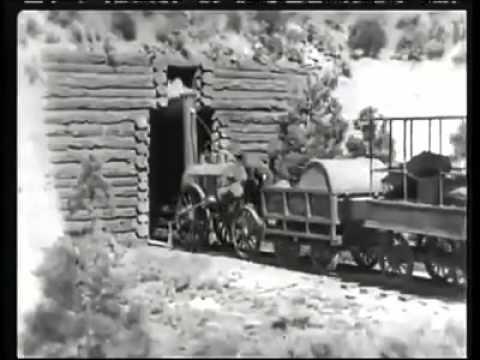 Trains in Olden Days