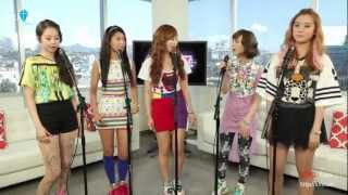 [Vietsub Kara] Wonder Girls - Wake up (A Cappella Ver)