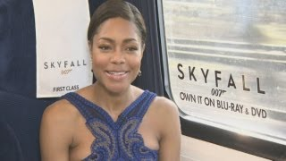 Skyfall: Naomie Harris tells all about Miss Moneypenny onboard the Skyfall train
