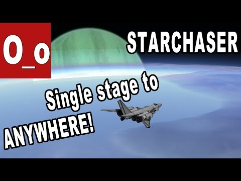 """Starchaser"" - Single Stage to ANYWHERE! Minmus, Duna, Ike and Laythe in ONE LAUNCH"