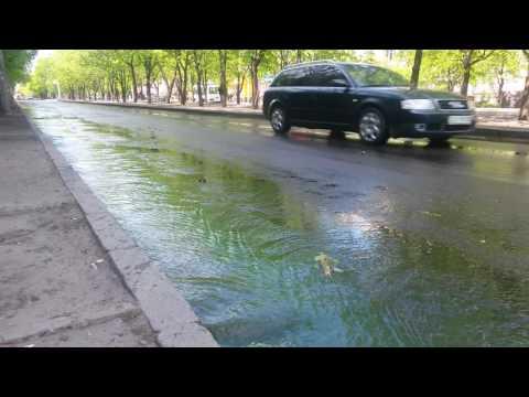 Черкассы затопило зеленой водой!