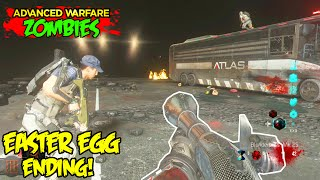 EXO ZOMBIES DESCENT EASTER EGG ENDING CUTSCENE - FINAL STEP & ACHIEVEMENT (Advanced Warfare DLC 4)