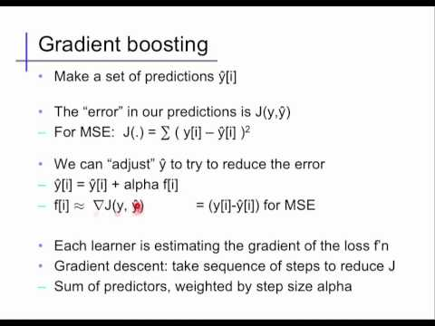Ensembles (3): Gradient Boosting