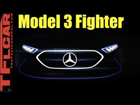 Mercedes-Benz Previews All Electric Tesla Model 3 Fighter: TFLnews Roundup