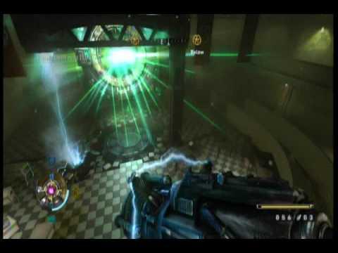 Как уничтожить портал рейха в игре wolfenstein видео