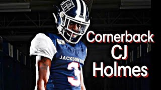 Jackson state university cornerback cj holmes is a playmaker. with all of the incoming recruits and transfers many fans have forgotten what mr. can do...