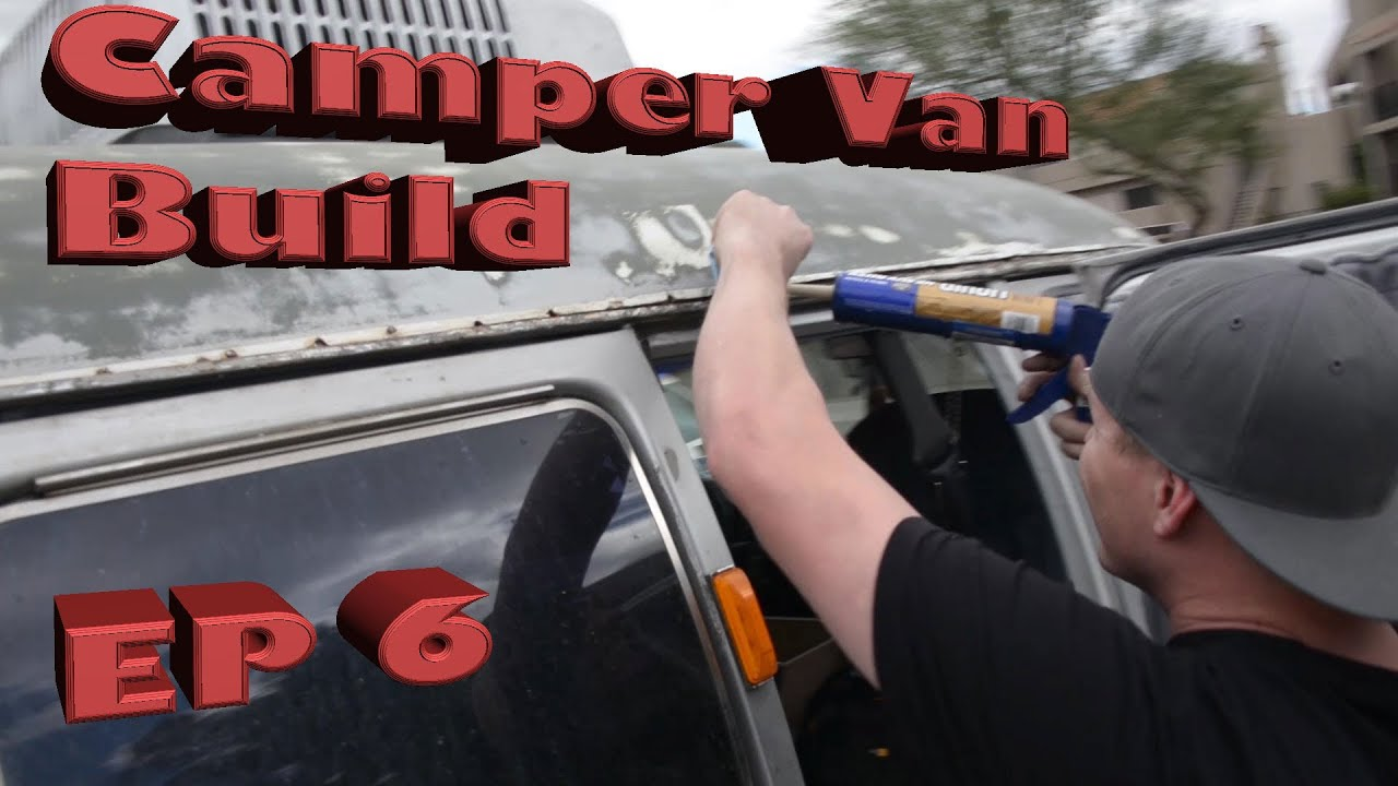 Diy Camper Van Build Bed Liner Results Amp Sealing