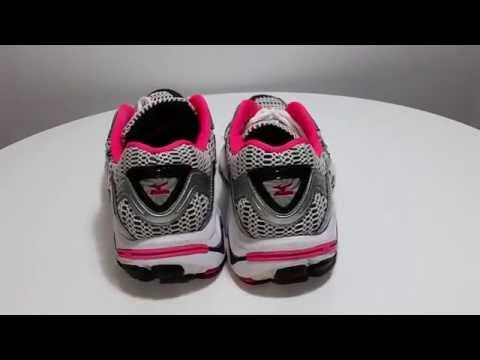 Womens Mizuno Wave Inspire Running Shoes Pink Silver Size Excellent