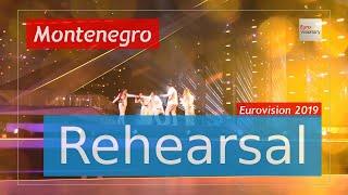 D mol - Heaven - Eurovision 2019 Montenegro (Rehearsal)