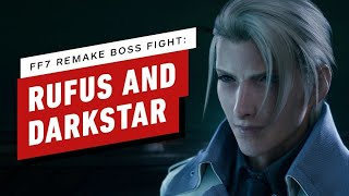 Final Fantasy 7 Remake Walkthrough  - Rufus and Darkstar Boss Fight