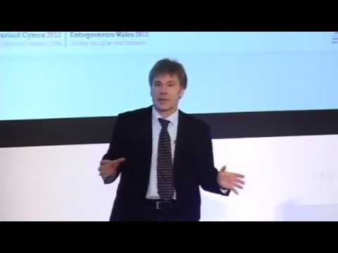Bruce Dickinson at Entrepreneurs Wales 2012