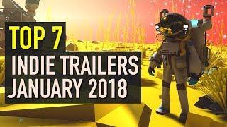 Baixar Top 7 Best Looking Indie Game Trailers - January 2018