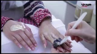 قناع تقشير وتبييض اليدين