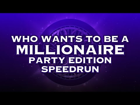 [WR] Who Wants To Be A Millionaire Party Edition Speedrun [4:23.94] |