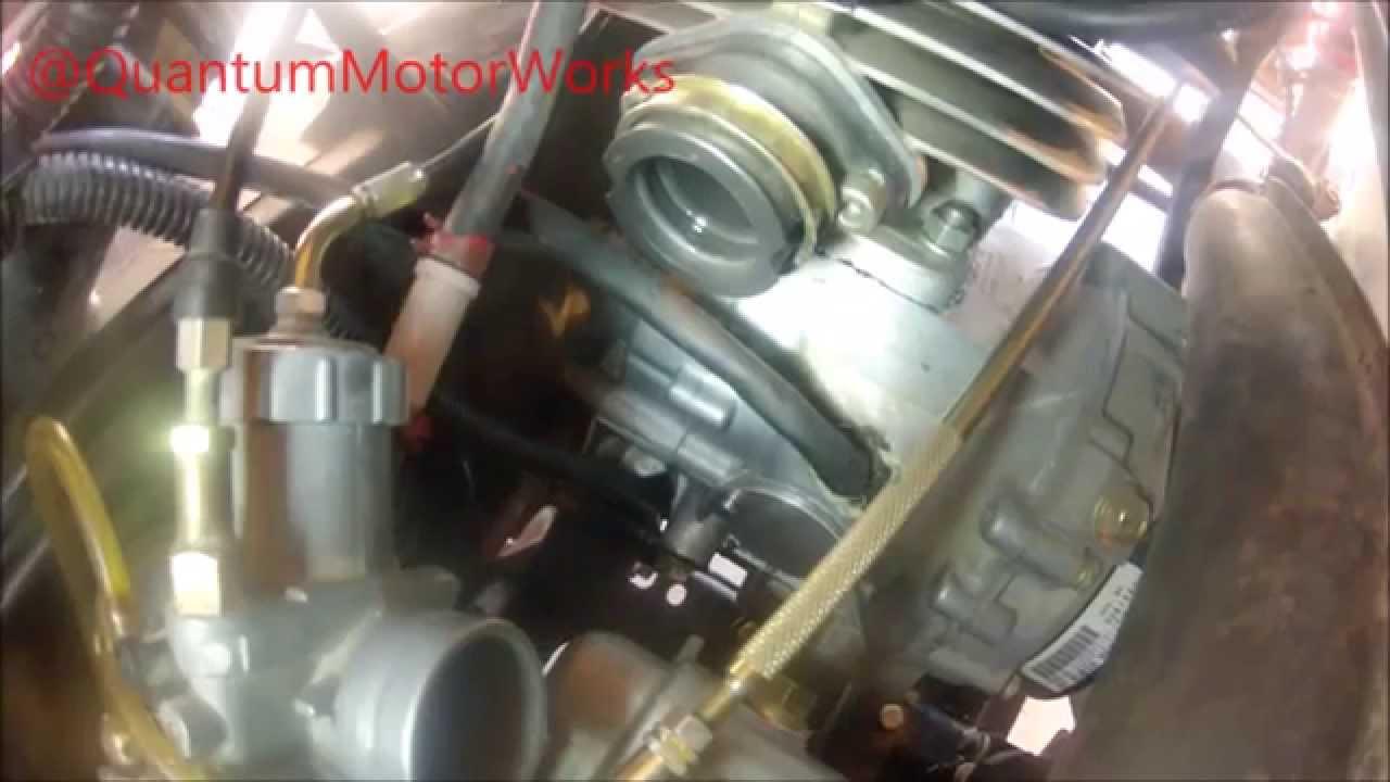 How to Install Oil Pump Block Off Kit for Polaris Trail Blazer 250 ATV  YouTube