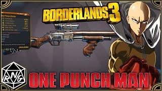 Borderlands 3 One Punch Man Easter Egg Guide