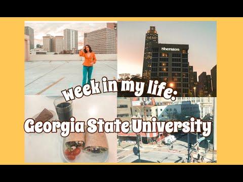 ☆week in my life: georgia state university student☆