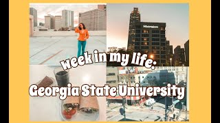 ☆week in my life: georgia state university student☆
