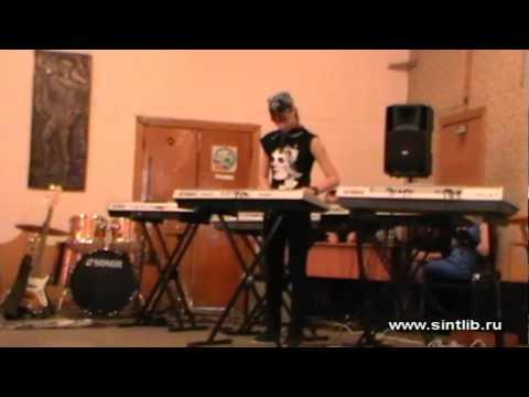 Игра на синтезаторе - конкурс Звездный проект, нарезки