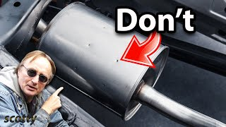 Why Not to Have a Muffler in Your Car