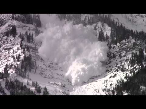Avalanche Control on Highway 3