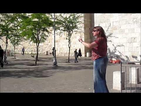 Blood Red Moon @ Jerusalem street preacher