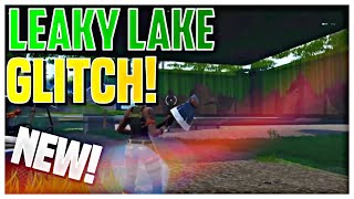 LEAKY LAKE GLITCH UNDER MAP AND PHASE THROUGH OBJECTS! | FORTNITE