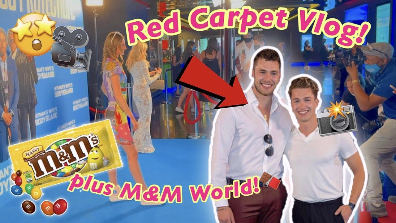 Come with me to a VIP MOVIE PREMIERE and M&M World!!😱*I met Love Island stars and huge celebs!!*✨