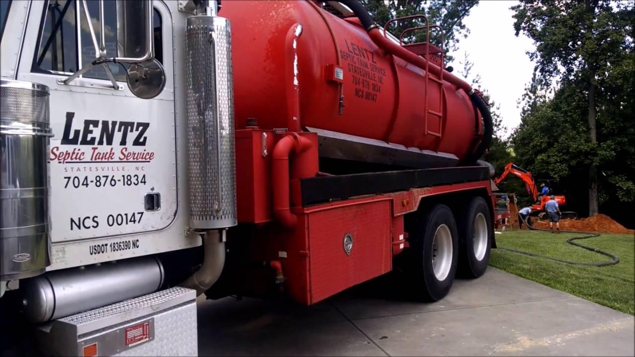 Lentz Septic Tank Pumping