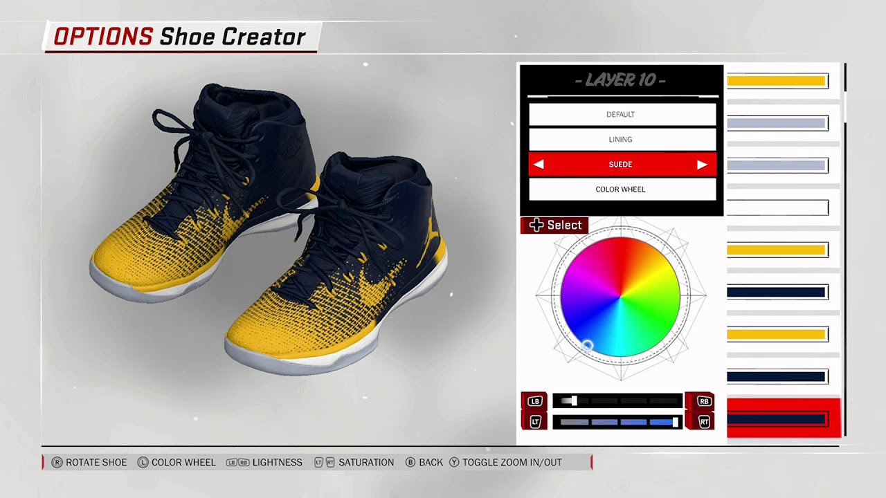 NBA 2K18 Shoe Creator - Air Jordan 31