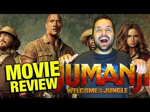 Jumanji: Bienvenidos a la Jungla - CRÍTICA - REVIEW - OPINIÓN - Dwayne - Welcome to the Jungle