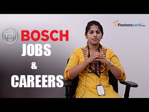 BOSCH – Recruitment Notification 2017, IT Jobs, Walkin, Care