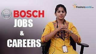 BOSCH – Recruitment Notification 2017, IT Jobs, Walkin, Career, Oppurtunities, Campus placements