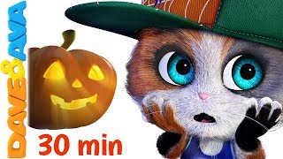 Download 🔥  Five Little Kittens | Halloween Songs | Scary Nursery Rhymes from Dave and Ava 🔥 Mp3 and Videos