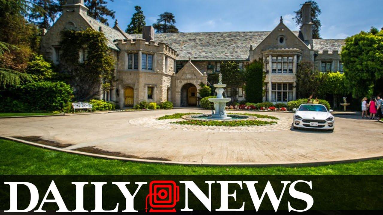 sold neighbor buys playboy mansion for 100 million youtube. Black Bedroom Furniture Sets. Home Design Ideas