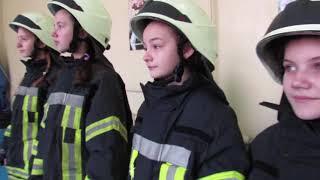 Майбутні рятувальниці із Запоріжжя підтримали маленьку британку Есмі, яка мріє стати пожежницею