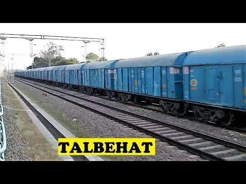 WAP4 Punjab Mail Sprints Talbehat