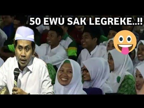 LUCU PUOL..!! 50 Ewu SaK LeGreke wkkk ,, Edisi Terbaru Pengajian KH Anwar Zahid Oktober 2017