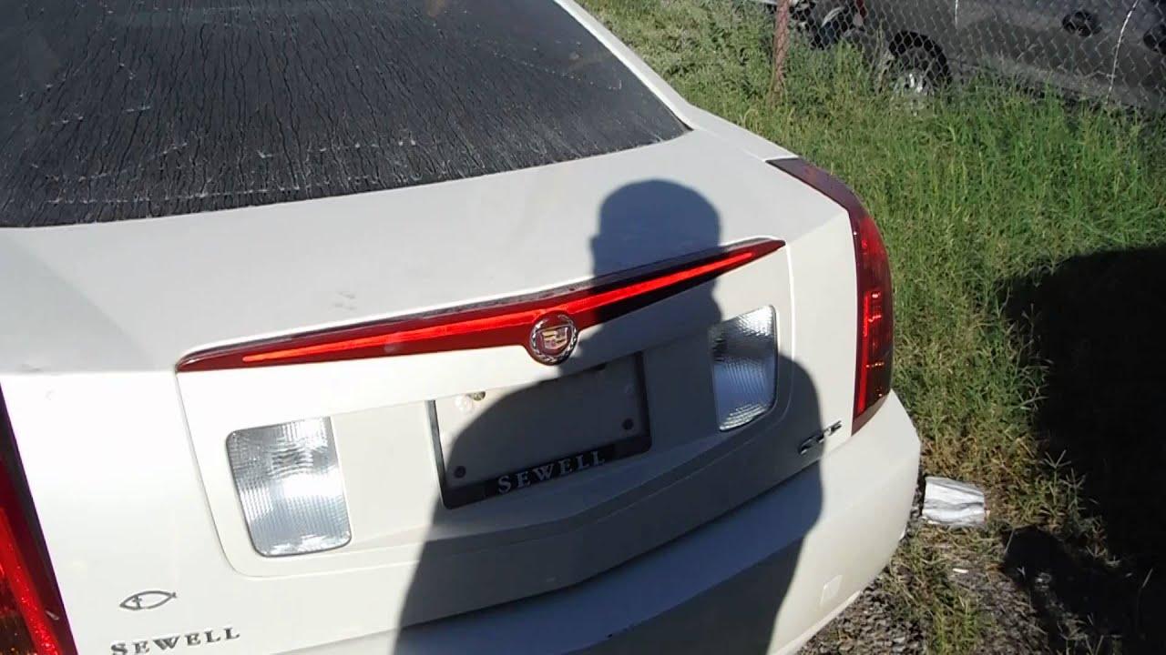 2005 Cadillac Cts Rear Finish Panel Youtube