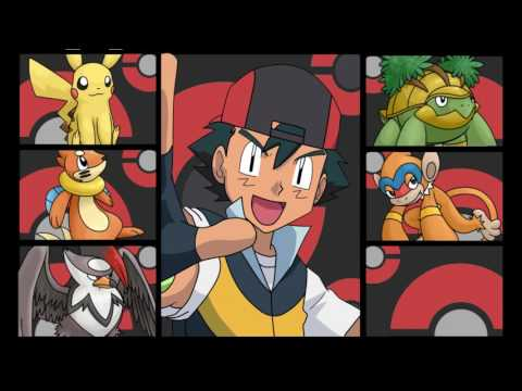 Ash's Pokemon Team GEN 4 Sinnoh