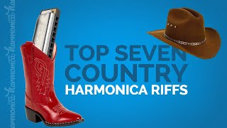 Top 7 Country Harmonica Riffs
