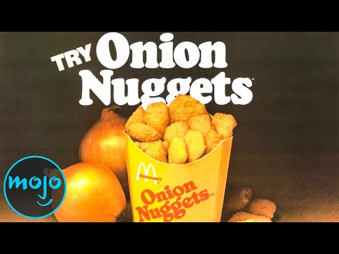Top 10 Fast Food Items That Don't Exist Anymore
