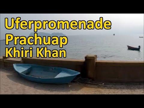 Uferpromenade in Prachuap Khiri Khan