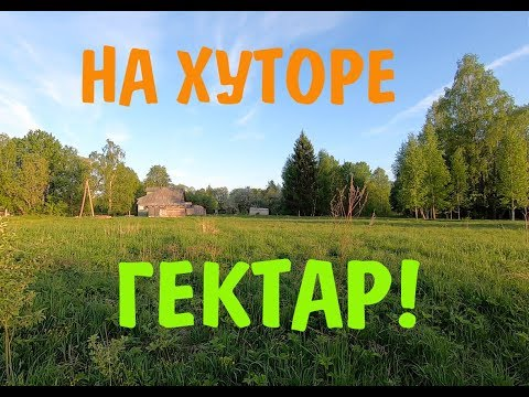 "Проект ""Переезд в деревню"". Гектар на хуторе!"